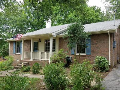 Hendersonville Single Family Home Under Contract - Showing: 112 Forest Meadows Dr