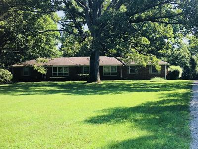 Goodlettsville Single Family Home Active - Showing: 7632 Ridgewood Road