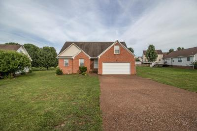 Spring Hill  Single Family Home Under Contract - Showing: 2619 Danbury Cir