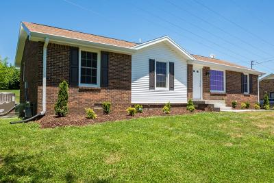 Hendersonville Single Family Home Under Contract - Showing: 182 Township Dr