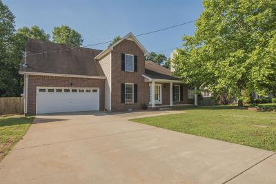 Houston County, Montgomery County, Stewart County Single Family Home Under Contract - Showing: 996 Garfield Way