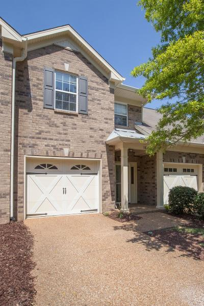 Franklin Condo/Townhouse Under Contract - Not Showing: 1828 Brentwood Pointe