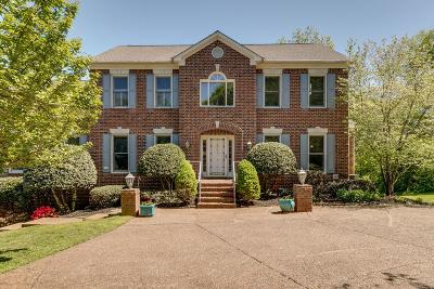 Brentwood TN Single Family Home Under Contract - Showing: $620,000