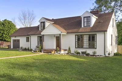 Nashville Single Family Home Under Contract - Not Showing: 1152 Greenland Ave