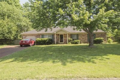 Smyrna Single Family Home Under Contract - Not Showing: 406 Adeline Dr