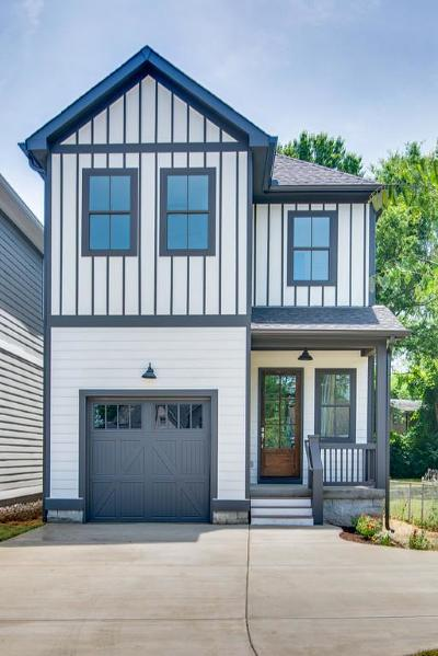 East Nashville Single Family Home Active - Showing: 414 A Scott Avenue