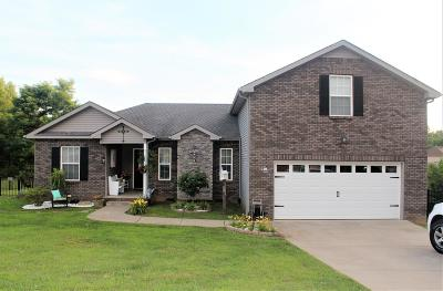 Clarksville Single Family Home Under Contract - Not Showing: 2930 Lily Way