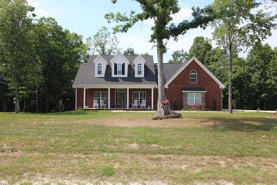 Hohenwald Single Family Home For Sale: 151 Saddlebrook Dr