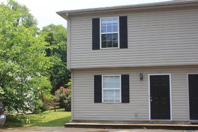 Rutherford County Condo/Townhouse Under Contract - Not Showing: 722 Fairview Ave