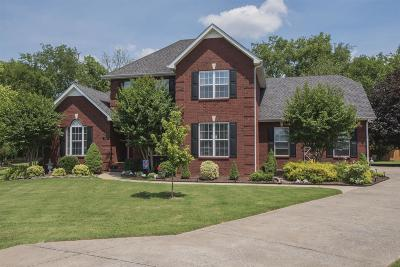 Murfreesboro Single Family Home Under Contract - Not Showing: 120 Williamson Ct