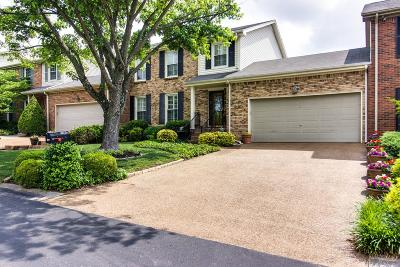Brentwood Condo/Townhouse Under Contract - Not Showing: 1604 Rosewood Ct
