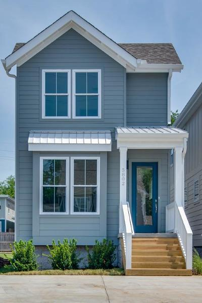 Nashville Single Family Home Under Contract - Not Showing: 5802 B Carl Pl