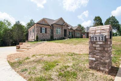 Brentwood, Fairview, Franklin, Spring Hill, Thompson's Station, Thompsons Station Single Family Home Under Contract - Not Showing: 7313 Allans Ridge Ln