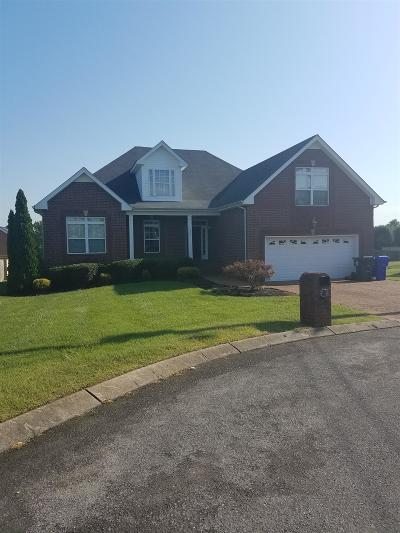 Robertson County Single Family Home Active - Showing: 105 Sequoyah Ct