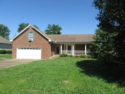 Clarksville Single Family Home Active - Showing: 3884 Parade Dr