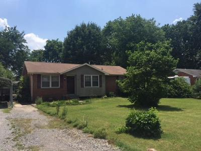 Murfreesboro Single Family Home Under Contract - Not Showing: 7007 Forrest Ln