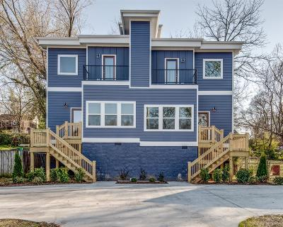 Nashville Single Family Home Active - Showing: 421 A Moore Ave.