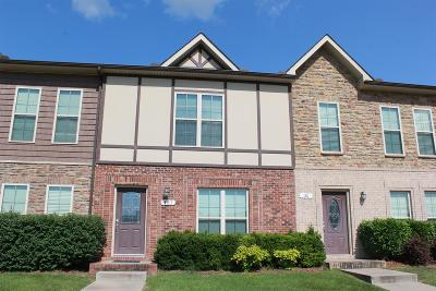 Clarksville Condo/Townhouse Under Contract - Not Showing: 151 Matheson Dr