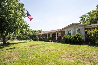 Hendersonville Single Family Home Under Contract - Showing: 101 Bostring Rd