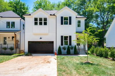 Nashville Single Family Home Active - Showing: 1334 Cardinal Ave.