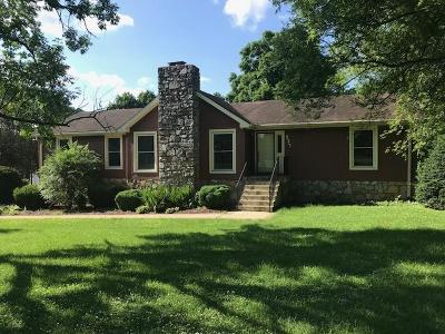 Old Hickory Single Family Home For Sale: 337 Shute Ln
