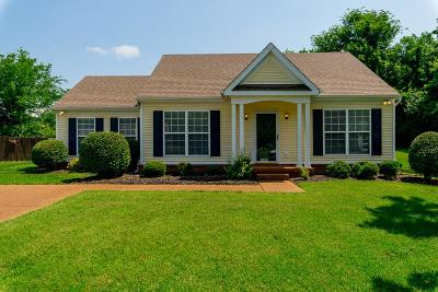 Thompsons Station Single Family Home Under Contract - Showing: 1320 Branchside Ct