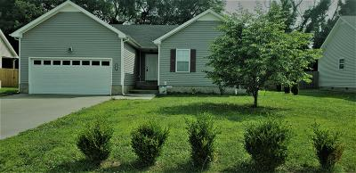 Clarksville Single Family Home Under Contract - Showing: 3810 Maliki Dr
