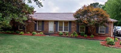 Clarksville Single Family Home Under Contract - Not Showing: 232 E Old Trenton Rd
