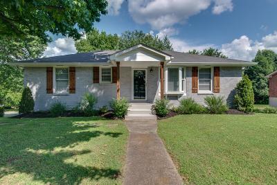 Nashville Single Family Home Active - Showing: 4800 Danby Dr