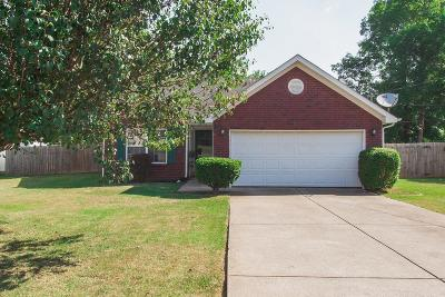 Rutherford County Single Family Home Under Contract - Not Showing: 1519 Waxman Dr