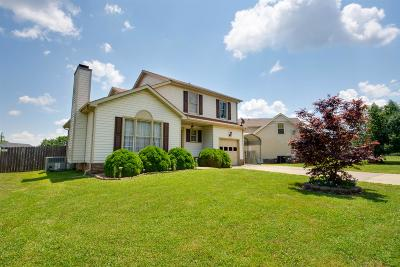 Clarksville TN Single Family Home Under Contract - Showing: $135,000