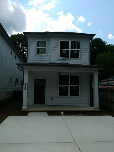 Nashville Single Family Home Active - Showing: 2217 A Sadler Ave