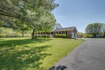 Lebanon Single Family Home Under Contract - Showing: 16060 Central Pike