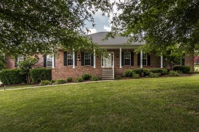 Hendersonville Single Family Home Under Contract - Showing: 1005 Hacketts Ct