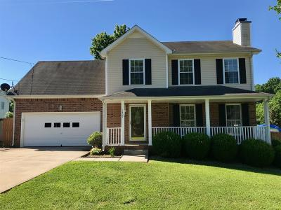Clarksville TN Single Family Home For Sale: $191,500