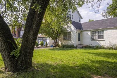 Nashville Single Family Home Under Contract - Showing: 1904 Warfield Dr