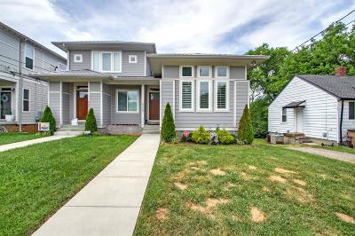 Nashville Single Family Home Active - Showing: 2405 B Branch St