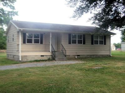 Shelbyville Single Family Home Under Contract - Showing: 289 Henslee Rd