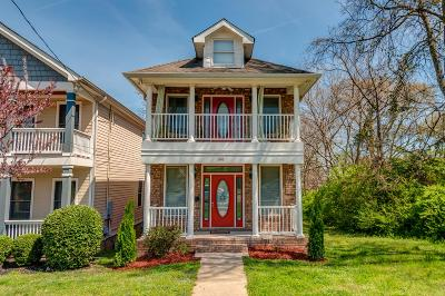 Nashville Single Family Home Active - Showing: 1618 B 6th Ave N