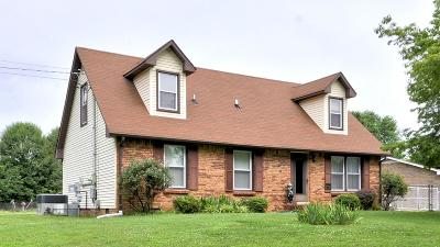Clarksville Single Family Home Under Contract - Not Showing: 419 Ambrose Dr