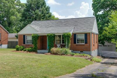 Nashville Single Family Home Active - Showing: 1519 Corder Dr