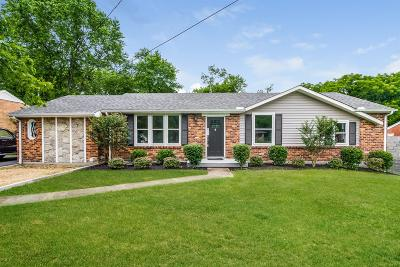 Nashville Single Family Home Active - Showing: 621 Harding Pl