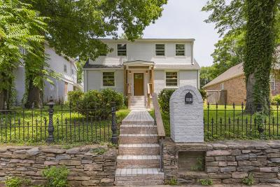 Nashville Single Family Home Active - Showing: 907 Chicamauga Ave