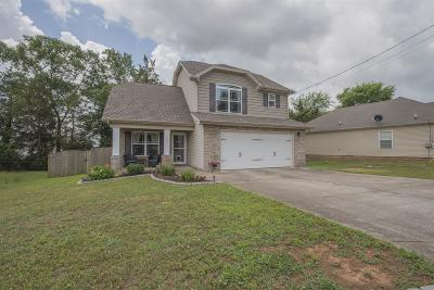 Smyrna Single Family Home Under Contract - Showing: 105 Amos Springs Way