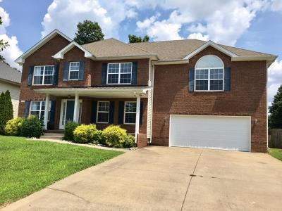 Clarksville Single Family Home For Sale: 3225 Timberdale Dr.