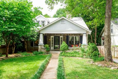 Nashville Single Family Home Active - Showing: 1611 Franklin Ave