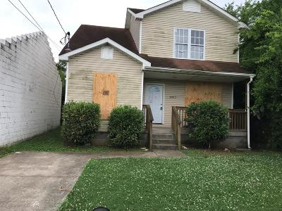 Nashville Single Family Home Active - Showing: 4005 Indiana Ave
