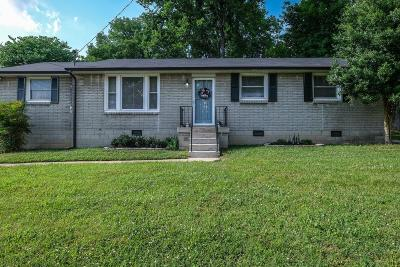 Davidson County Single Family Home Under Contract - Not Showing: 205 Bonnalynn Dr