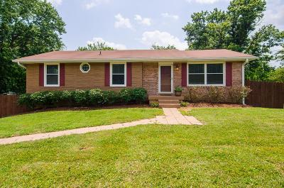 Hendersonville Single Family Home Under Contract - Showing: 120 Two Valley Rd