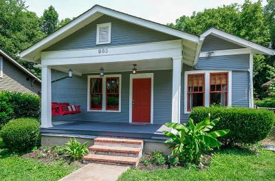 Nashville Single Family Home Active - Showing: 953 Seymour Ave